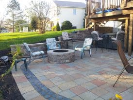 George and Tinas Hardscape project by Mosey Landscapes, landscaper in Harrisburg, PA