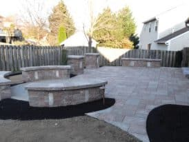 Atkinson Patio Project hardscape by Mosey Landscapes, landscaper in Harrisburg, PA