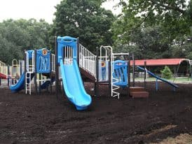 Mechanicsburg Playground Construction by Mosey Landscapes, landscaper in Harrisburg, PA